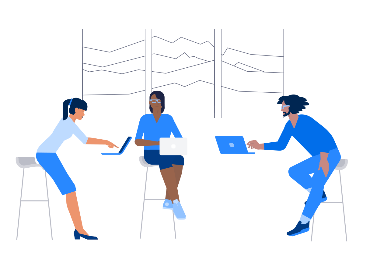Office meeting Clipart illustration in PNG, SVG