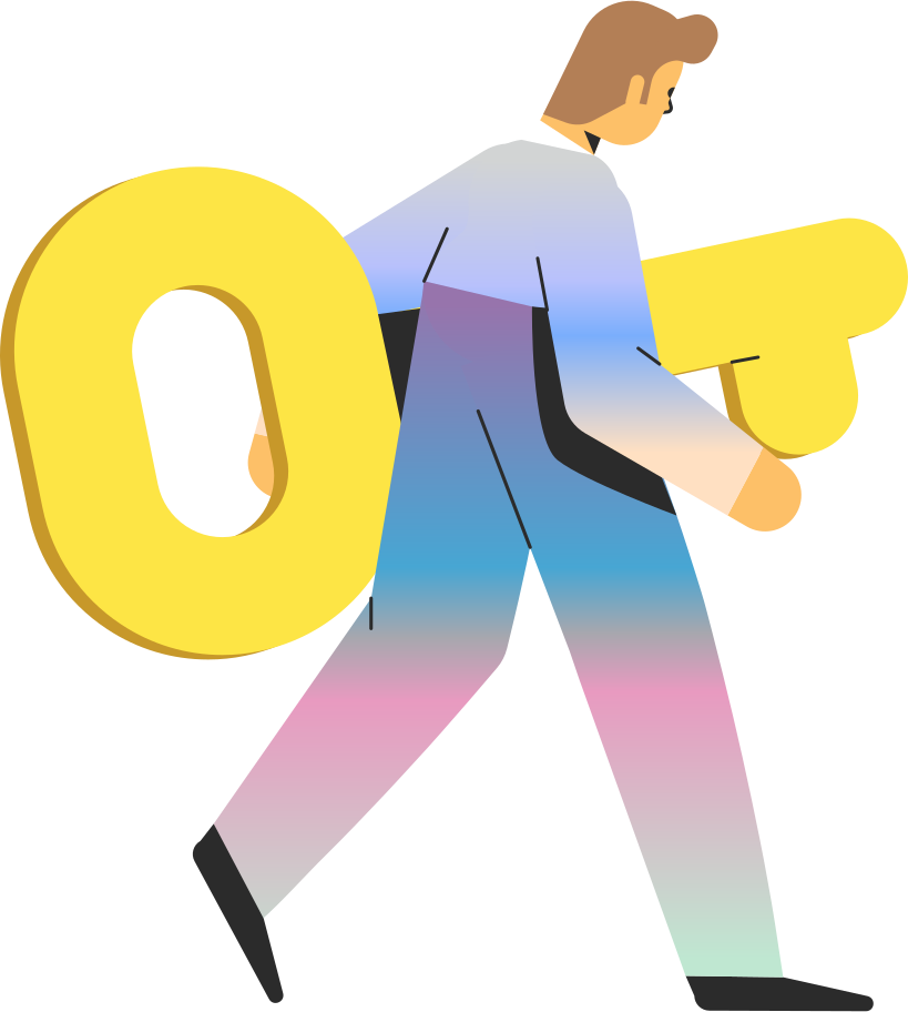information security  man with key Clipart illustration in PNG, SVG