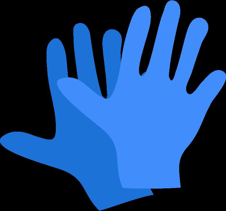 gloves Clipart illustration in PNG, SVG