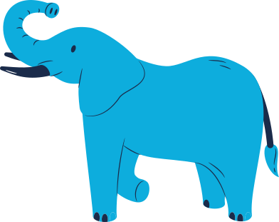 style elephant standing images in PNG and SVG | Icons8 Illustrations