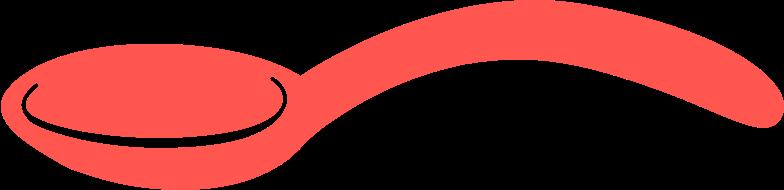 Ilustración de clipart de cuchara en PNG, SVG