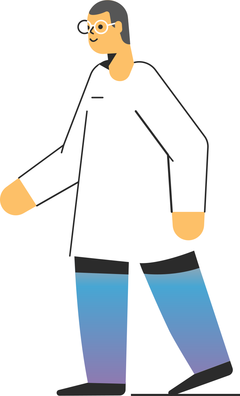 laboratory assistant Clipart illustration in PNG, SVG