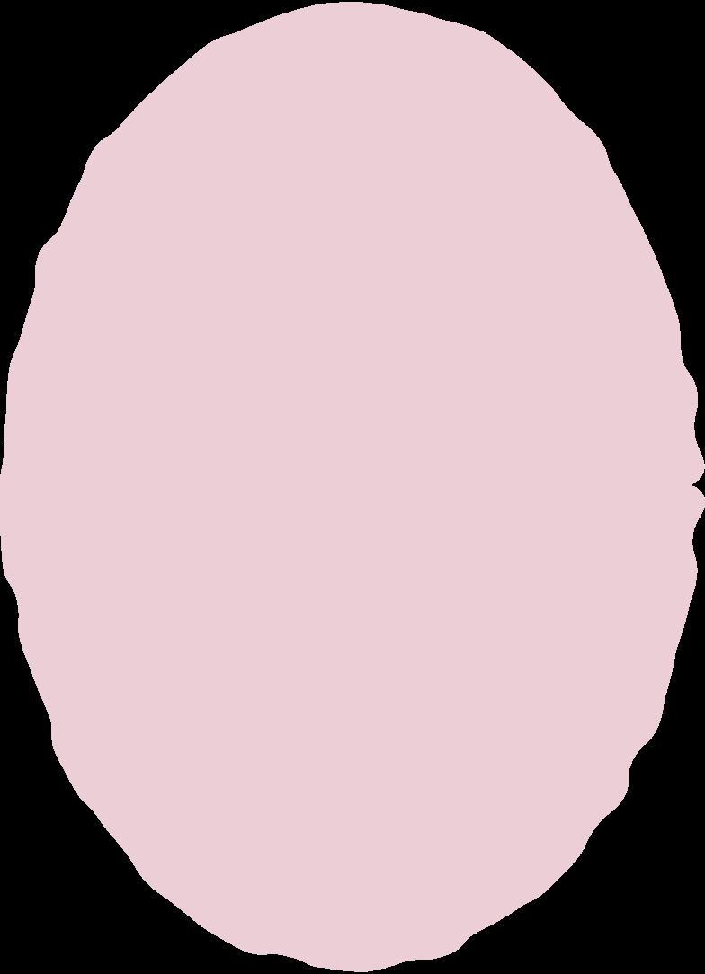 ellipse pink Clipart illustration in PNG, SVG