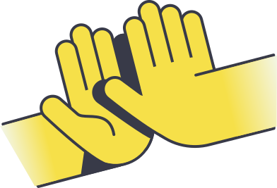 style high five images in PNG and SVG | Icons8 Illustrations