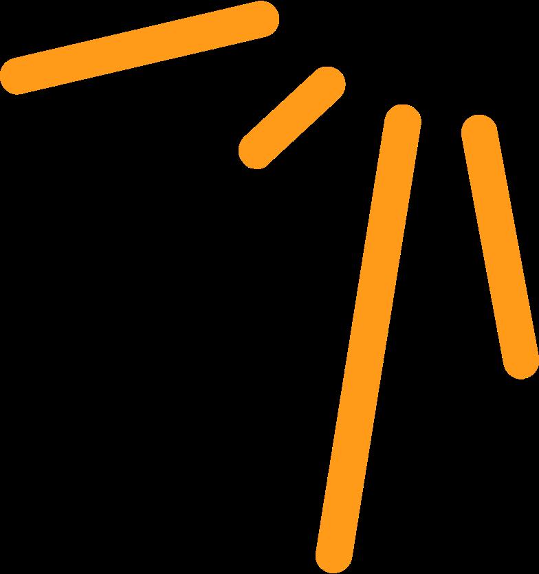 Ilustração de clipart de electric sparks em PNG e SVG