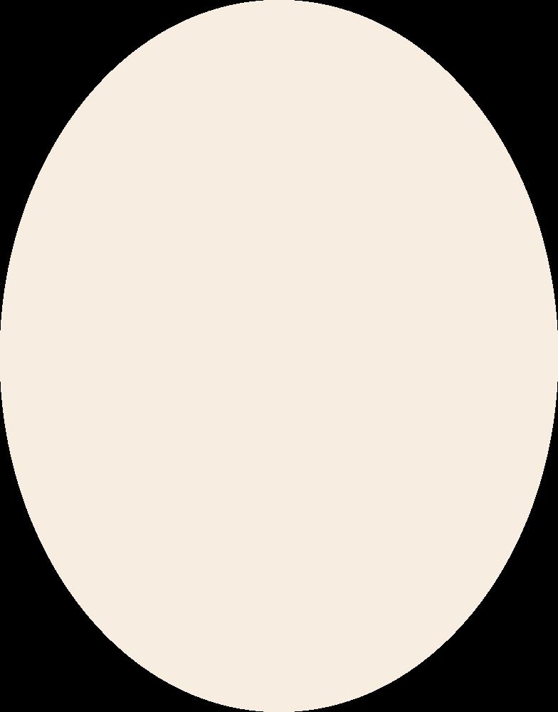 ellipse-beige Clipart illustration in PNG, SVG