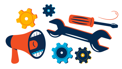 style Equipment repair advertisement images in PNG and SVG | Icons8 Illustrations