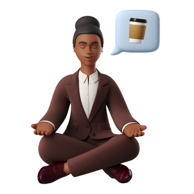 style Coffee meditation images in PNG and SVG | Icons8 Illustrations