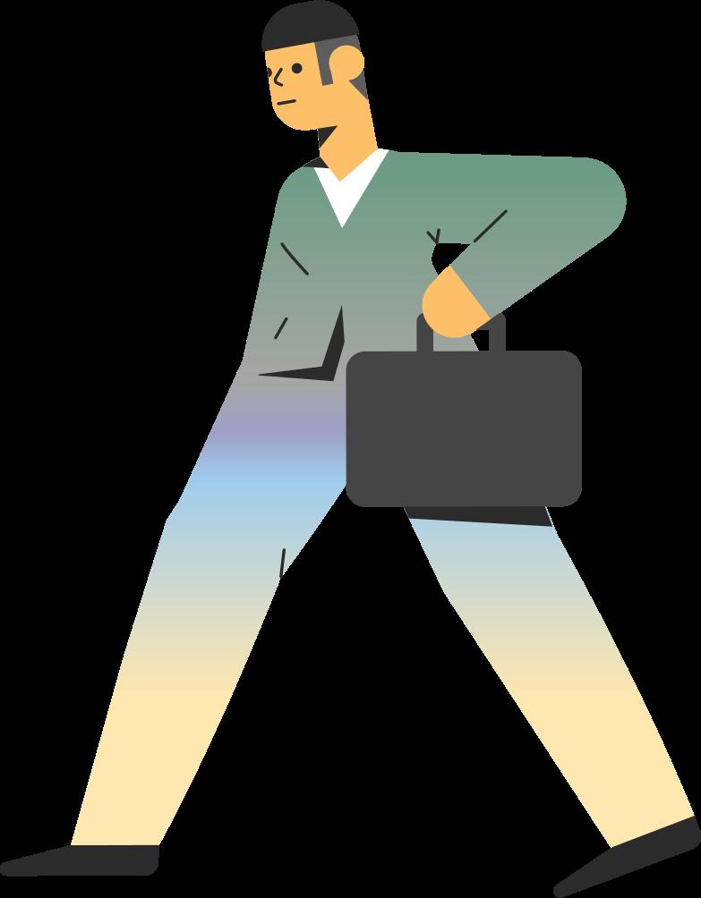 Ilustração de clipart de businessman em PNG e SVG