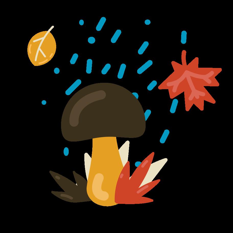 Autumn season Clipart illustration in PNG, SVG