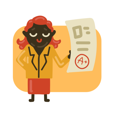 style Satisfied school teacher images in PNG and SVG | Icons8 Illustrations