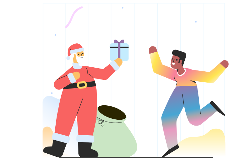 style Christmas surprise  Vector images in PNG and SVG | Icons8 Illustrations