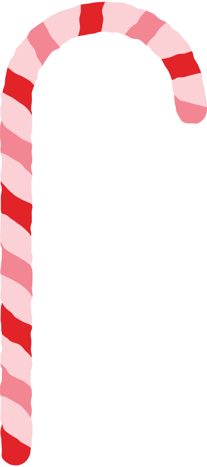 christmas stick candy Clipart illustration in PNG, SVG