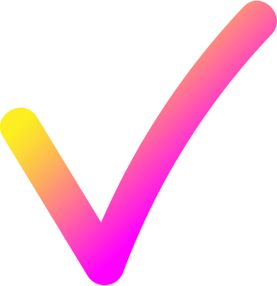 style rg pink yellow check mark images in PNG and SVG | Icons8 Illustrations