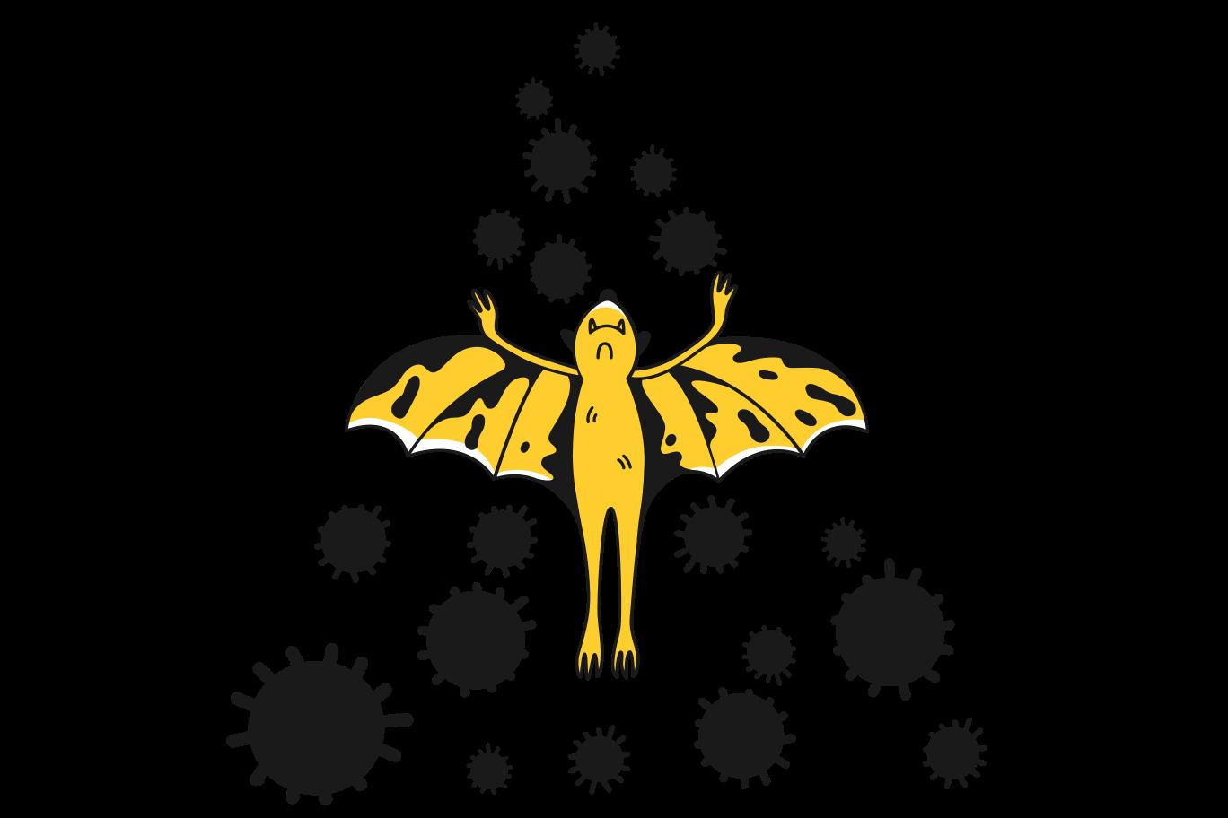 Coronavirus source Clipart illustration in PNG, SVG