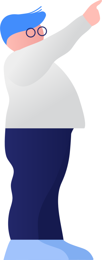 fat boy showing Clipart illustration in PNG, SVG