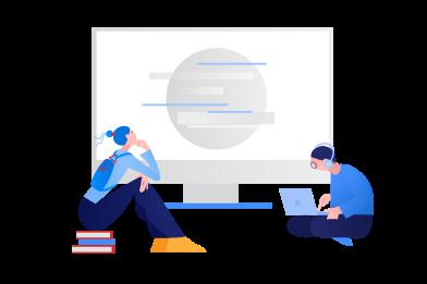 Иллюстрация онлайн образование в стиле  в PNG и SVG | Icons8 Иллюстрации