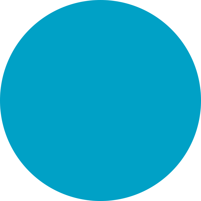 circle cyan Clipart illustration in PNG, SVG