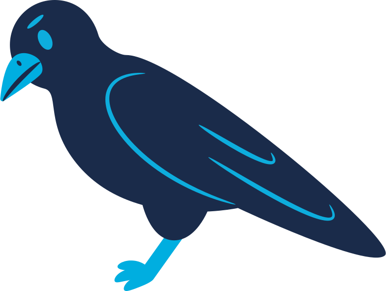 style raven calm Vector images in PNG and SVG | Icons8 Illustrations