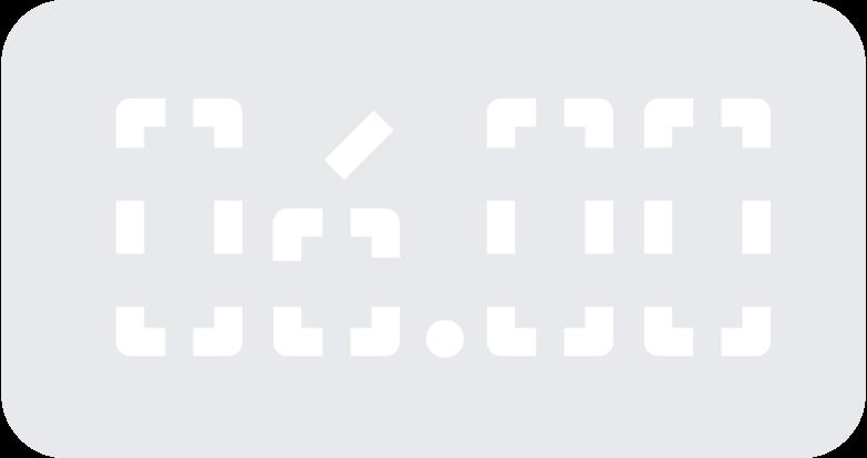 digital clock Clipart illustration in PNG, SVG