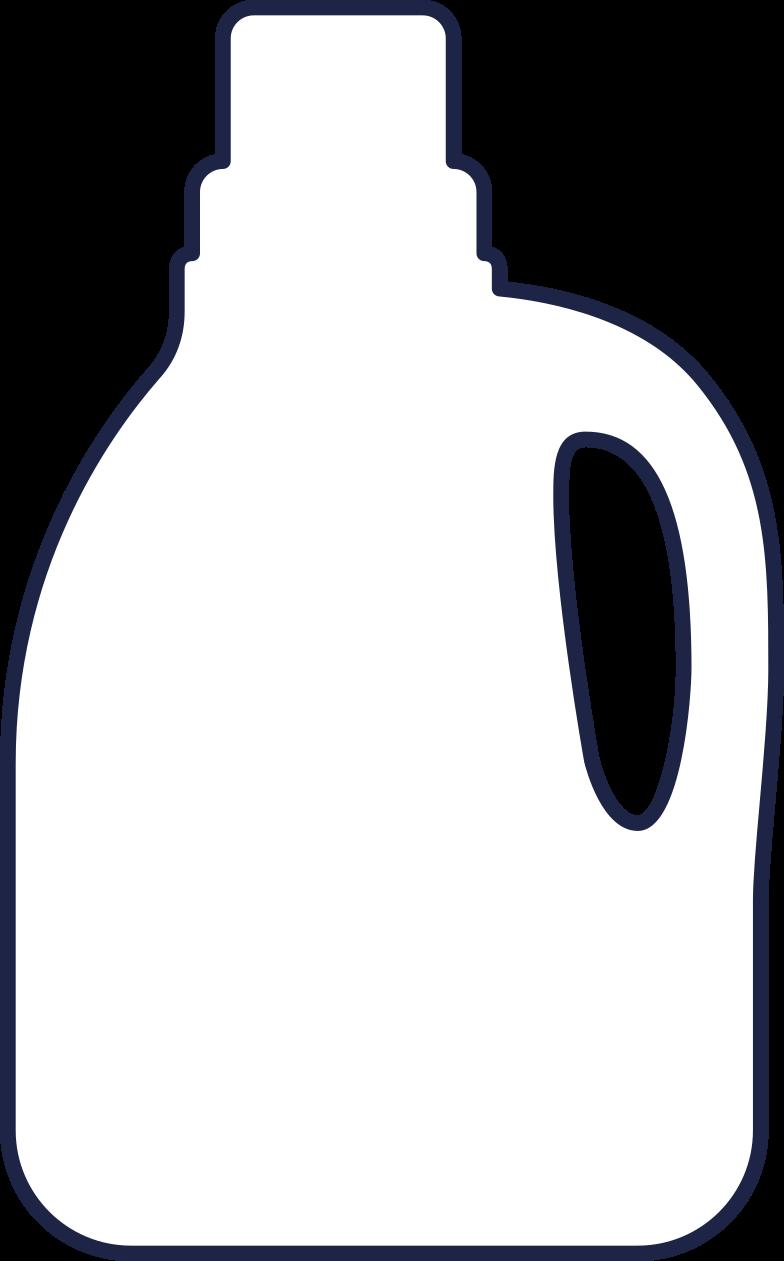bottle 2 line Clipart illustration in PNG, SVG