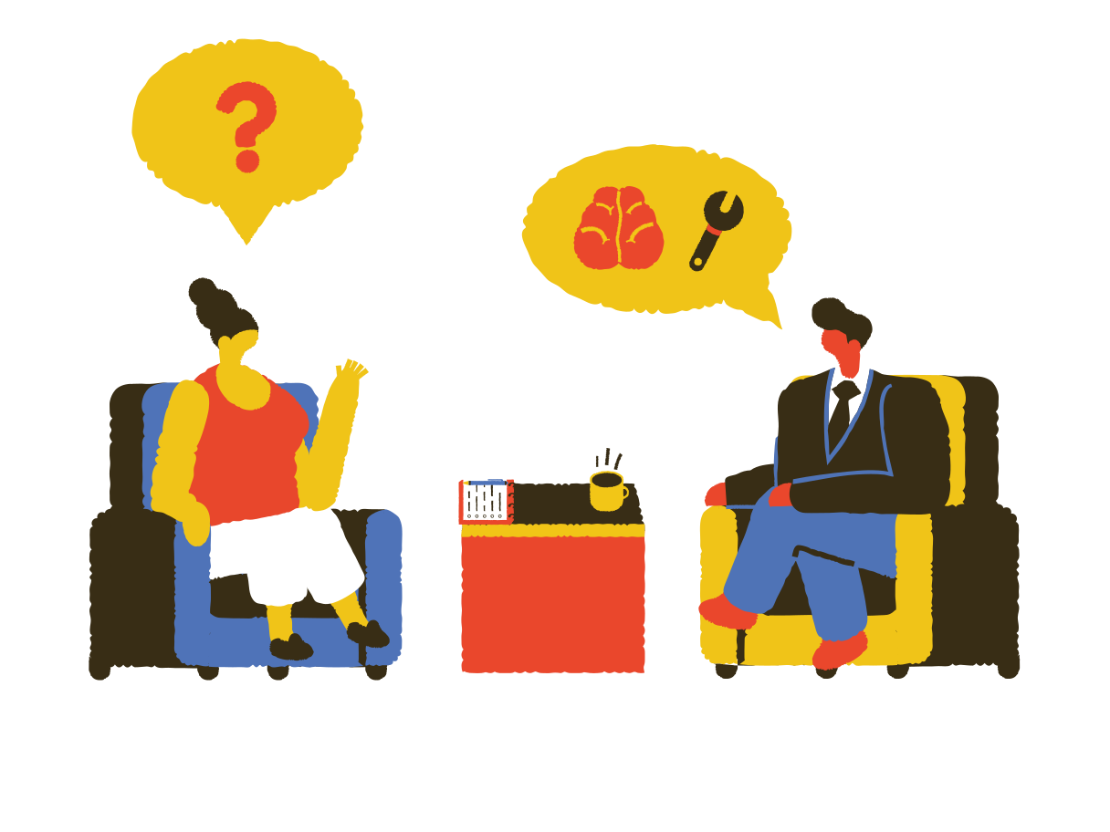 Psychotherapy Clipart illustration in PNG, SVG