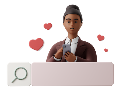 style Love searching images in PNG and SVG | Icons8 Illustrations