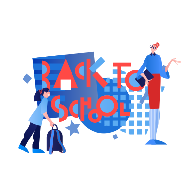 style Lehrer und schüler sind wieder in der schule images in PNG and SVG | Icons8 Illustrations
