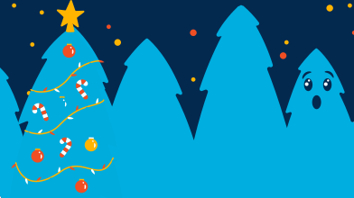 style Trees are getting ready for the christmas images in PNG and SVG | Icons8 Illustrations