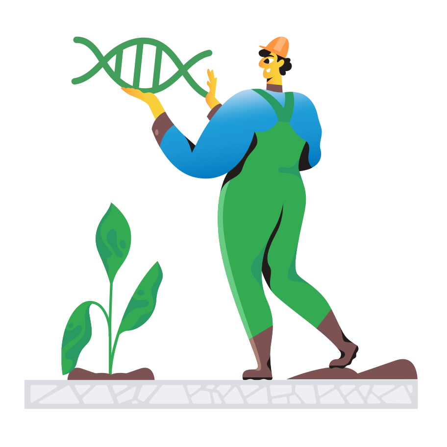 Biotechnology Clipart illustration in PNG, SVG