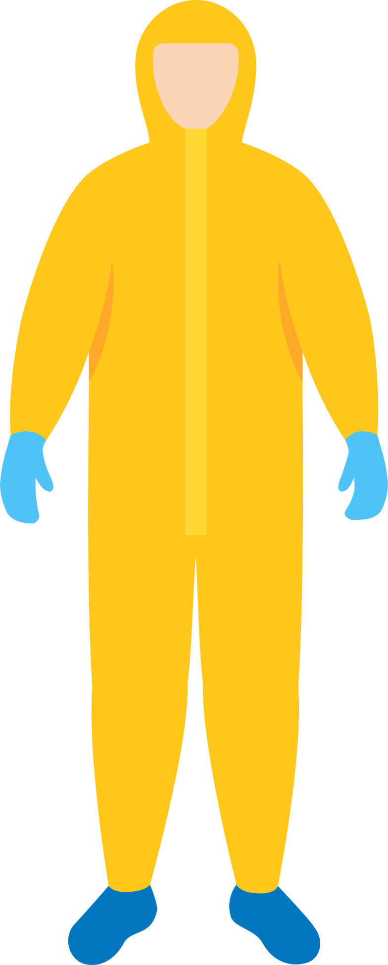 man in protective-suit Clipart illustration in PNG, SVG