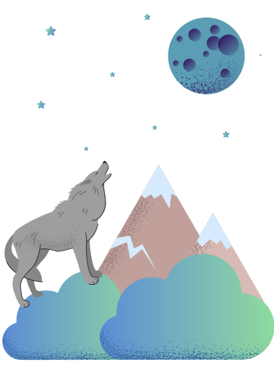 style Howls to the moon images in PNG and SVG | Icons8 Illustrations