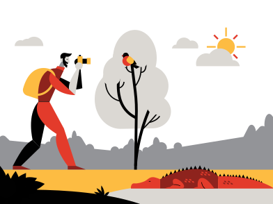 style Exploring nature images in PNG and SVG | Icons8 Illustrations