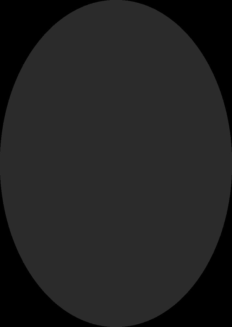 Illustration clipart Ellipse noire aux formats PNG, SVG