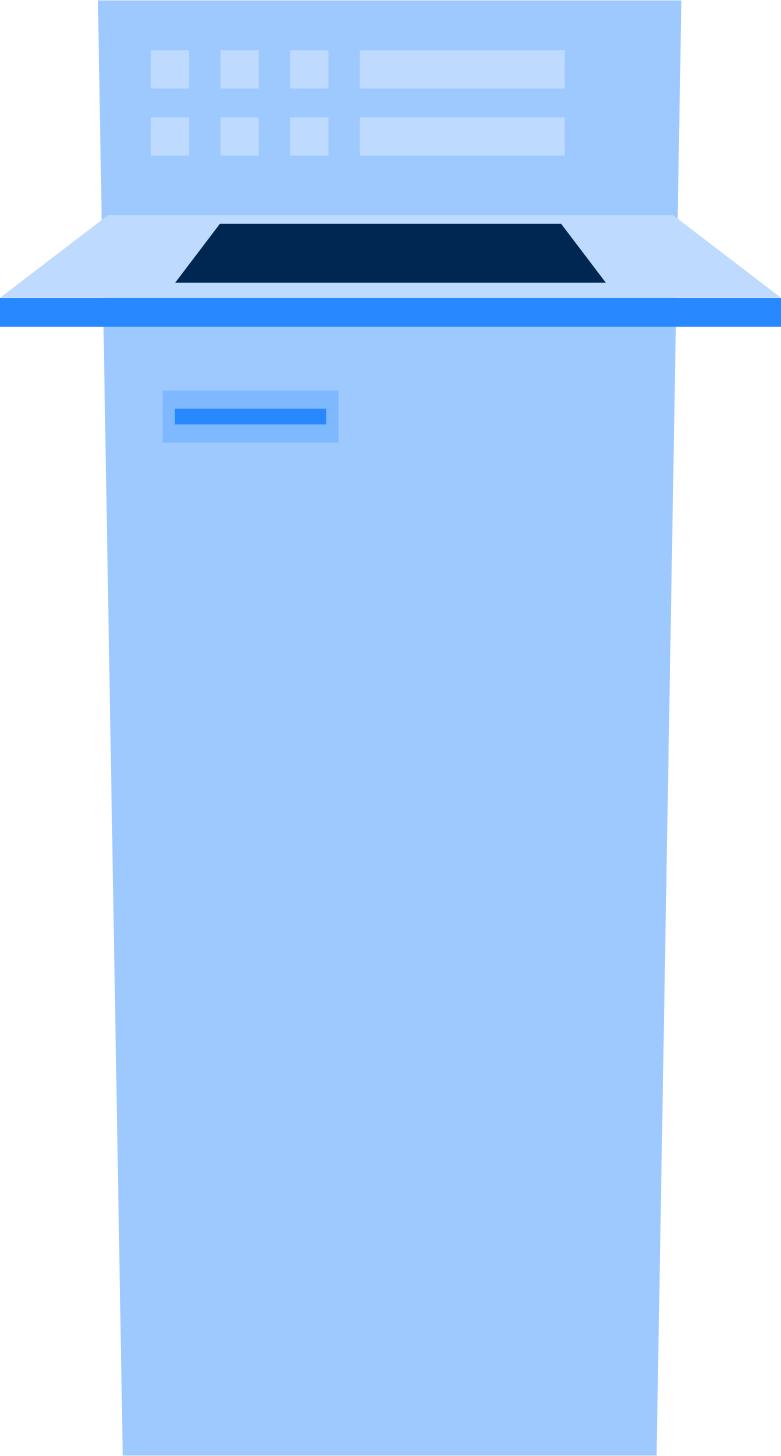 self service Clipart illustration in PNG, SVG