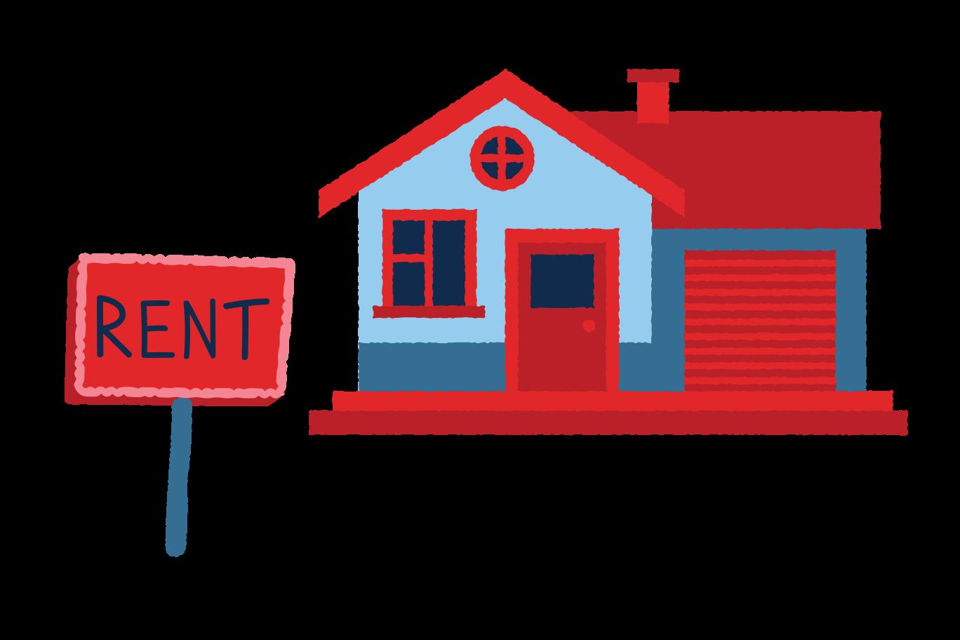 Rent Clipart illustration in PNG, SVG