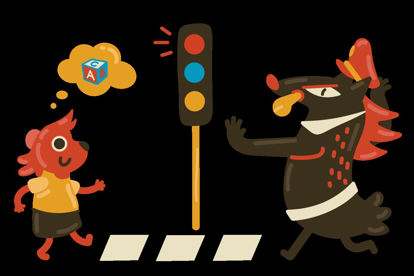 Children safety Clipart illustration in PNG, SVG