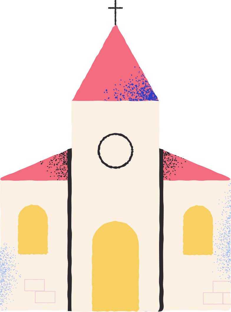 church Clipart illustration in PNG, SVG