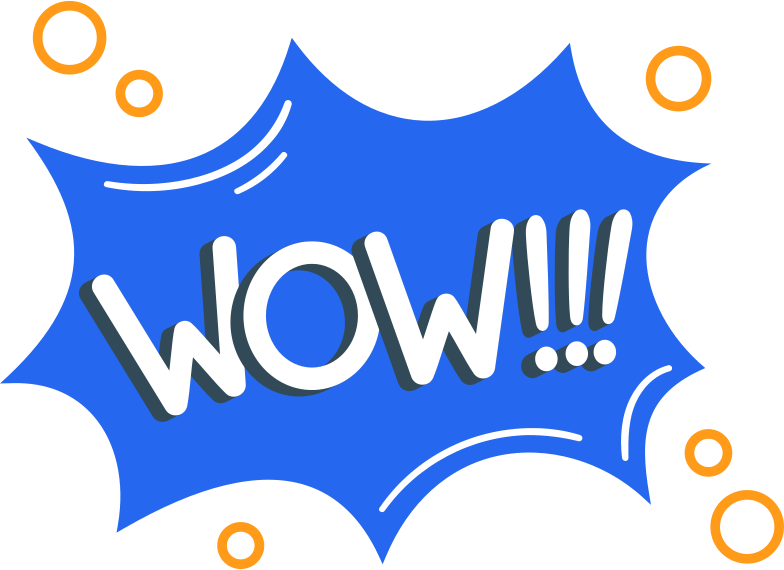 wow Clipart illustration in PNG, SVG