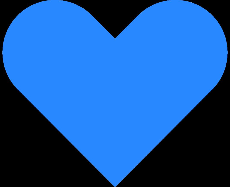 Ilustración de clipart de icono de corazon en PNG, SVG