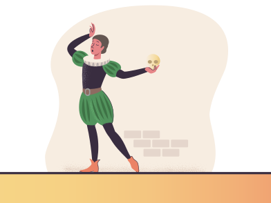 style Actor performing on a stage images in PNG and SVG | Icons8 Illustrations