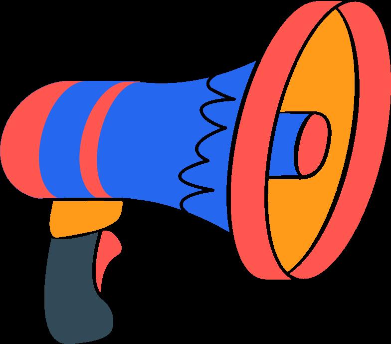 Ilustração de clipart de speaker em PNG e SVG