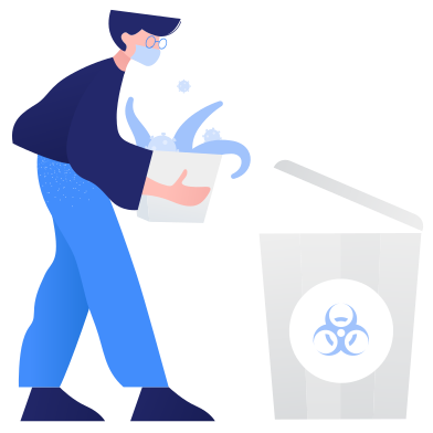 style Waste sorting- biohazard images in PNG and SVG | Icons8 Illustrations
