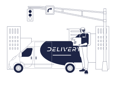 style Courier Delivery images in PNG and SVG | Icons8 Illustrations