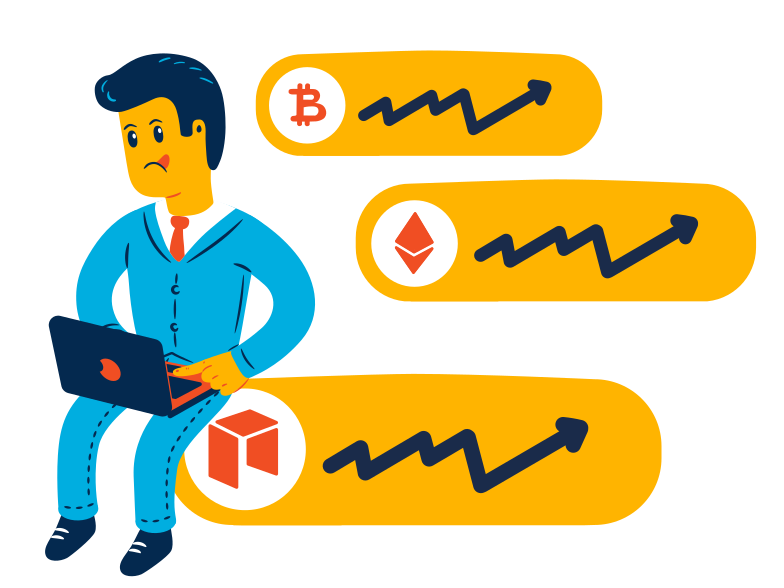 style Cryptocurrency exchange Vector images in PNG and SVG | Icons8 Illustrations