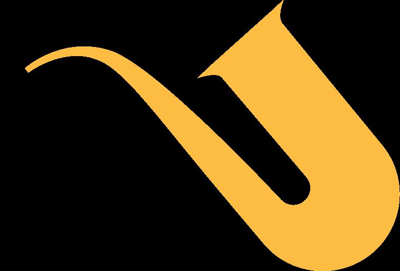 saxophone Clipart illustration in PNG, SVG