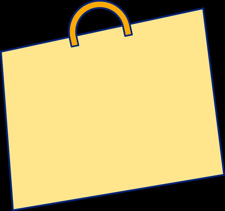 Imágenes vectoriales bolso de compras amarillo en PNG y SVG estilo  | Ilustraciones Icons8