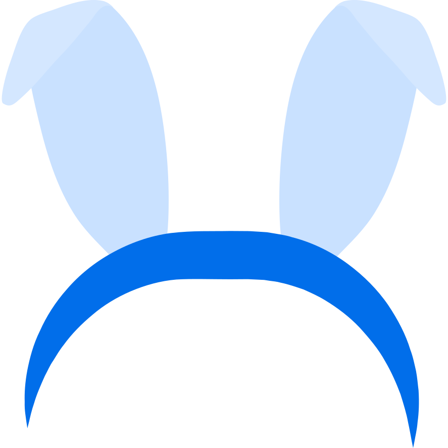 headband with ears Clipart illustration in PNG, SVG