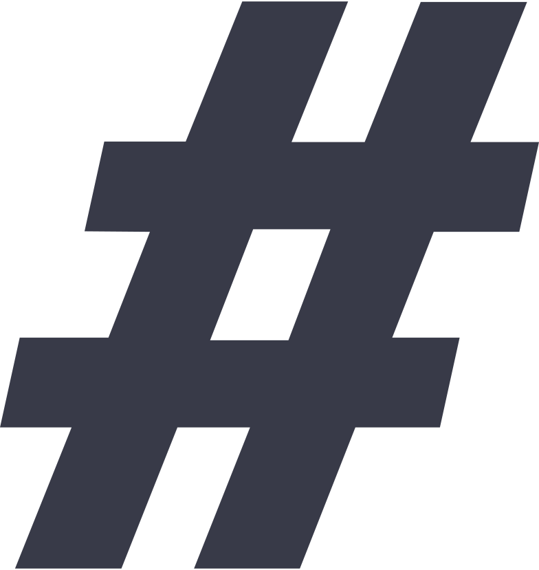 hash sign Clipart illustration in PNG, SVG