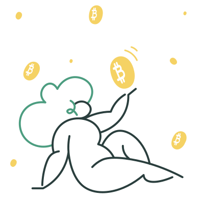 style Bitcoin rain images in PNG and SVG | Icons8 Illustrations